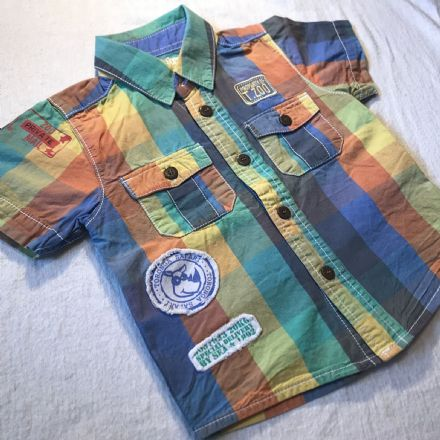 12-18 Month Colourful Shirt